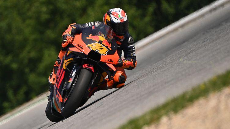 L'Espagnol Pol Espargaro (KTM) (JOE KLAMAR / AFP)