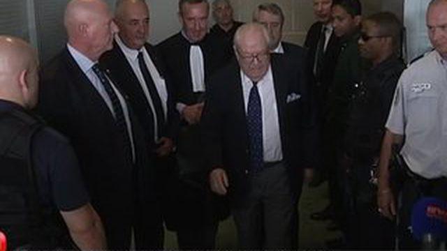 La bataille judiciaire est ouverte entre Jean-Marie Le Pen et le FN