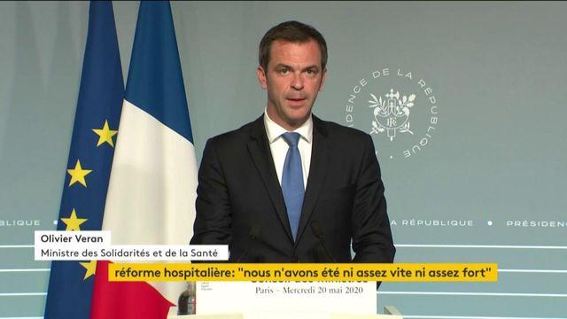 Olivier Véran fait des annonces sur la réforme du système de santé