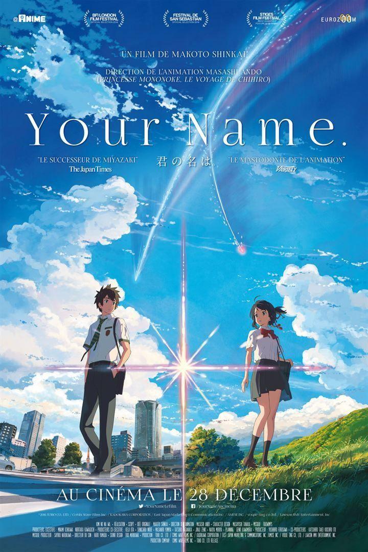 """""""Your Name"""" : l'affiche française  (Eurozoom)"""