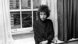 Bob Dylan photographié le 15 juin 1966. (REX FEATURES/REX/SIPA)