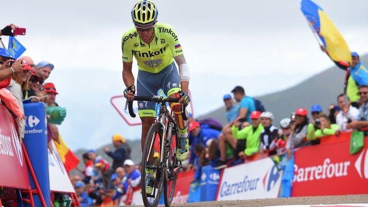 Alberto Contador souffre sur le parcours très difficile de la Vuelta 2016 (DE WAELE TIM / TDWSPORT SARL)