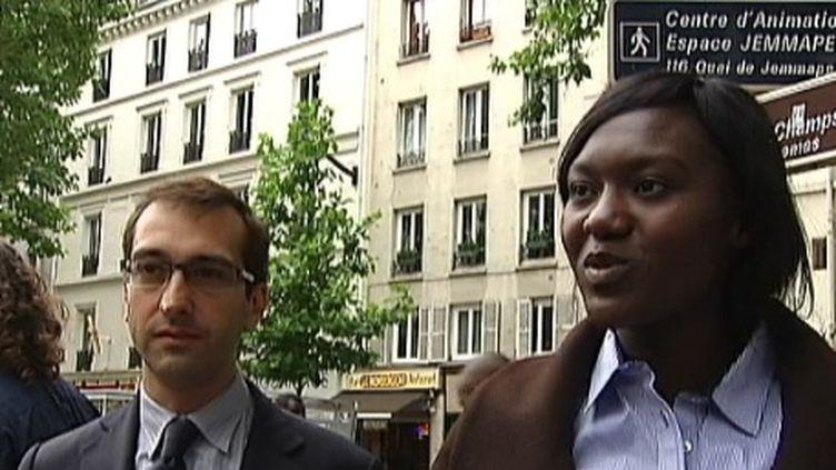 Seybah Dagoma en campagne électorale à Paris (FTV)