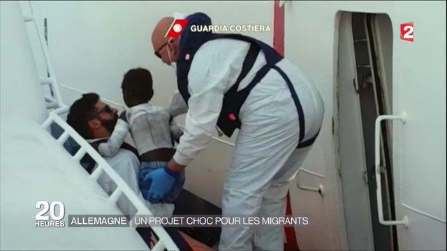 Allemagne : un projet choc pour les migrants