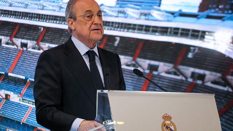 Florentino Perez, président du Real Madrid. (IRH / SPAINDPPI)