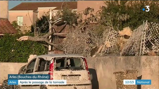 Arles : le désarroi des sinistrés après le passage de la tornade