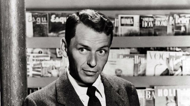 "Frank Sinatra en 1954 dans le film ""Young at heart"" de Gordon Douglas  (Warner Bros / Kobal / The Picture Desk / AFP)"