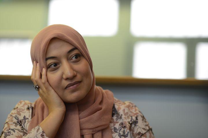 Saïda Ounissi,ministre tunisienne de l'Emploi et de la Formation professionnelle (JEROME MARS/JDD/SIPA)