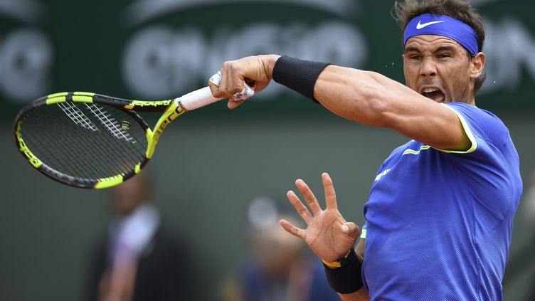 Le nonuple vainqueur de Roland-Garros Rafael Nadal (ERIC FEFERBERG / AFP)