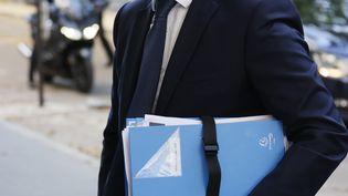 Le ministre de l'Intérieur, Gérald Darmanin, à Paris, le 11 juillet 2020. (THOMAS SAMSON / AFP)