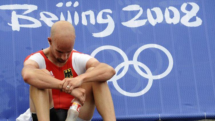 Stefan Schumacher aux JO 2008 (AXEL SCHMIDT / AFP)