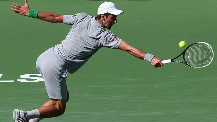 Novak Djokovic (STEPHEN DUNN / GETTY IMAGES NORTH AMERICA)