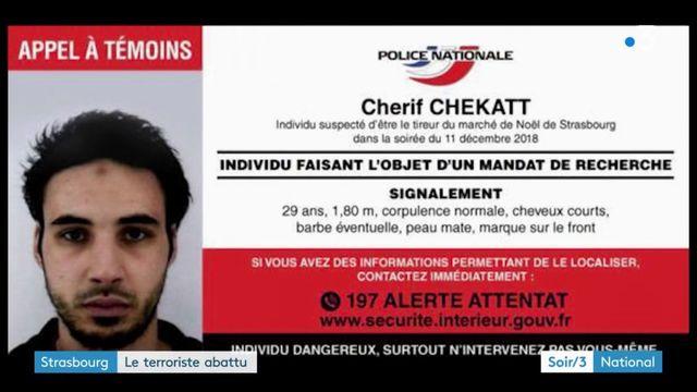Attentat à Strasbourg : Cherif Chekatt abattu