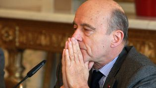 Alain Juppé le 26 février 2013 à Bordeaux (Gironde). ( GOOGLE MAPS / FRANCETV INFO )