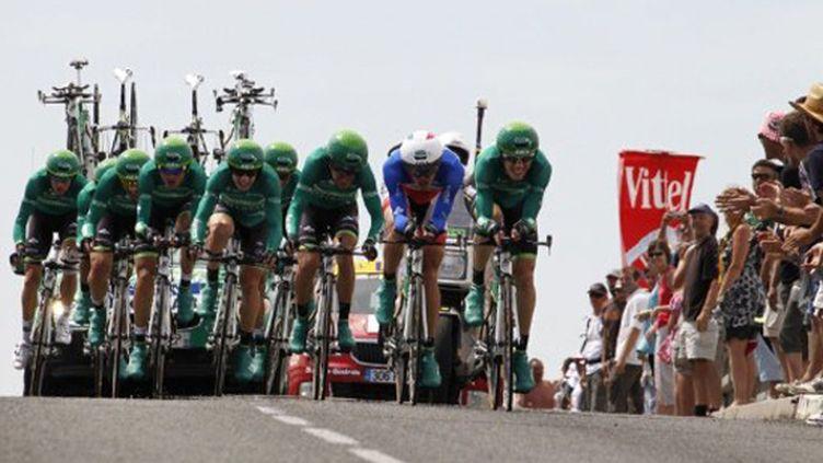 Le Team Europcar en action