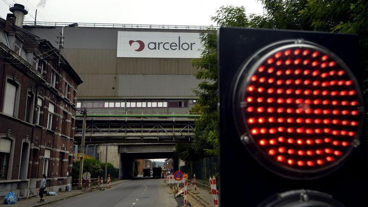 Un site d'ArcelorMittal à Liège (Belgique), le 18 septembre 2012. (ERIC LALMAND / BELGA)
