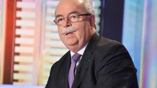Le PDG de Total, Christophe de Margerie, le 1er mars 2013 à Boulogne-Billancourt. (IBO / SIPA)