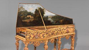 Clavecin Ruckers Taskin. Musée de la Musique, Cité de la Musique à Paris  (J. Marc Anglès )