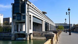 Le ministère de l'Economie et des Finances, dans le quartier de Bercy (Paris) le 8 avril 2020 (BERTRAND GUAY / AFP)