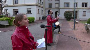 Les crieurs du 7e (France 3 Rhône-Alpes :D. Pajonk)