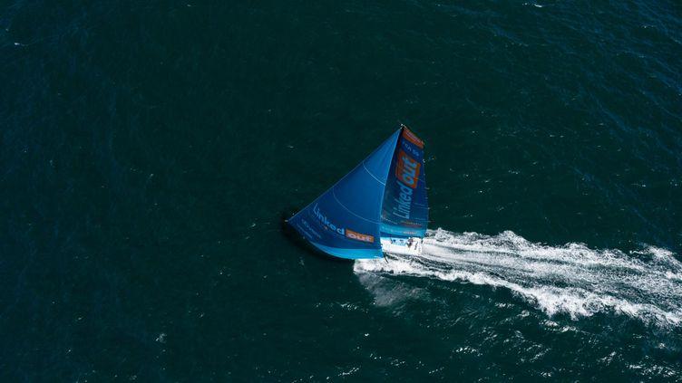Linkedout sur l'Atlantique (Pierre Bouras / TR Racing)
