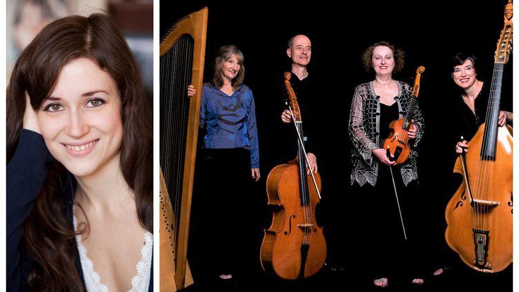 L'ensemble Concerto d'amour avec la soprano Charlotte Ruby (Concerto d'amour)