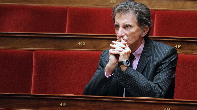 Le député socialiste Jack Lang, le 6 juillet 2010, à l'Assemblée nationale. (ERIC FEFERBERG /AFP PHOTO)