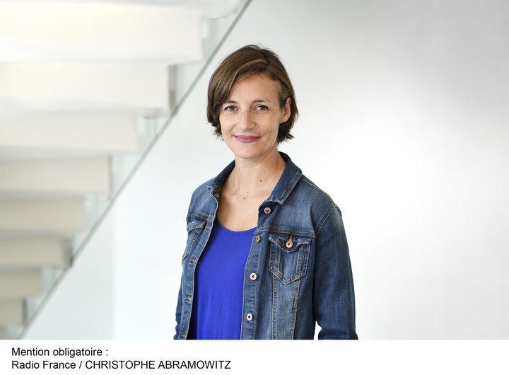 Céline Asselot, journaliste. (CHRISTOPHE ABRAMOVITZ / RADIO FRANCE)