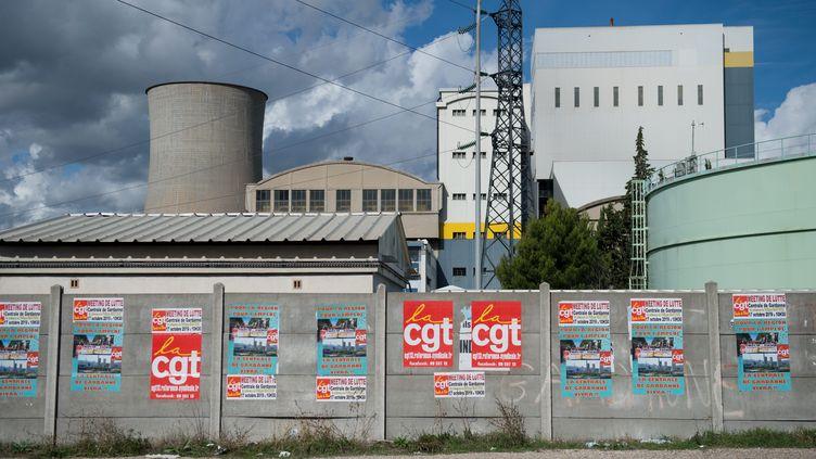 La centrale de Gardanne en octobre 2019. (CLEMENT MAHOUDEAU / IP3 PRESS/MAXPPP)