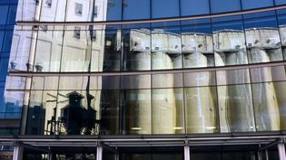 Des silos à grains transformés en musée d'art africain, juin 2014  (RODGER BOSCH)