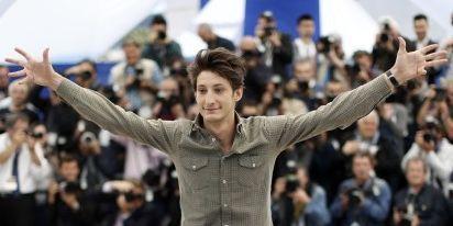 Le comédien Pierre Niney à Cannes  (AFP/Valérie Hache)