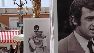 Mort de Jean-Paul Belmondo : vive émotion à Nice. (FRANCE 2)