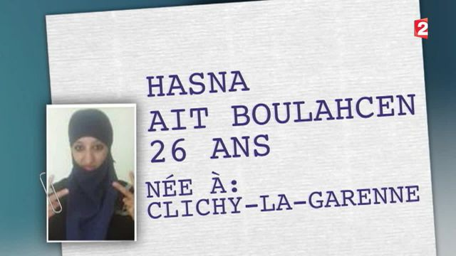 Les enquêteurs sur la piste d'Hasna Aït Boulahcen, kamikaze présumée de Saint-Denis