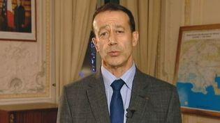 Alain Gardère,Le préfet délégué à la sécurité en Provence-Côte d'Azur - Marseille 26 dfécembre 2011 (France 2)
