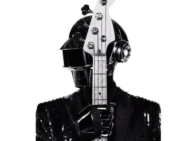 Costume de scène de Thomas dessiné par Hedi Slimane pour Daft Punk 2013.  (Saint Laurent Music Project / Daft Punk )