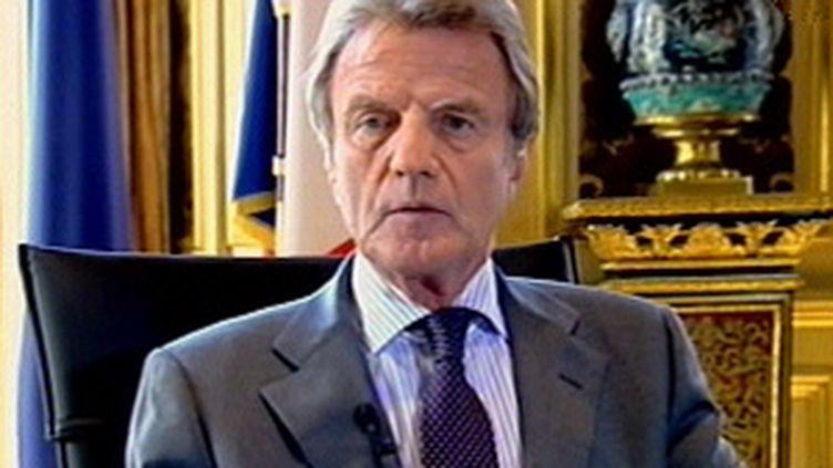 Bernard Kouchner, ministre des Affaires étrangères. (F3)