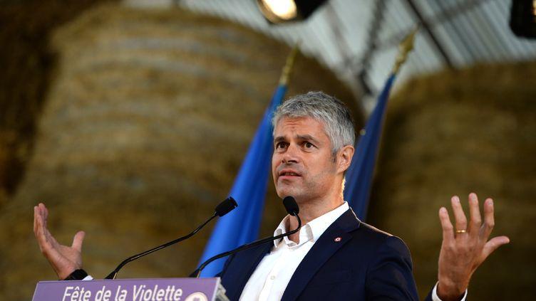 Laurent Wauquiez, le 30 septembre 2017. (GUILLAUME SOUVANT / AFP)