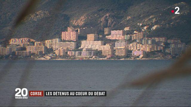 Corse : les détenus au cœur du débat