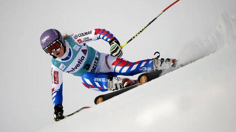 La championne du monde de slalom géant, Tessa Worley