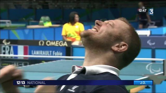 Jeux paralympiques : de l'or pour Fabien Lamirault