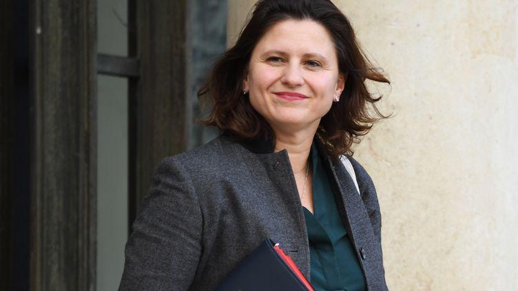 Roxana Maracineanu, la ministre des Sports, à l'Elysée le 18 décembre 2019. (ERIC FEFERBERG / AFP)