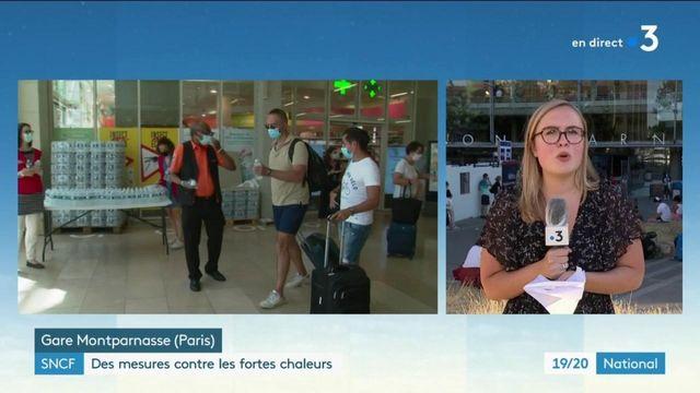 SNCF : l'entreprise s'adapte pour accueillir au mieux les voyageurs durant les fortes chaleurs