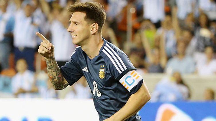 Le joueur argentin Lionel Messi