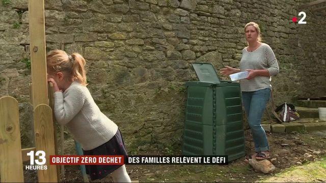 Écologie : bilan d'une expérience zéro déchet pour deux familles de la Manche