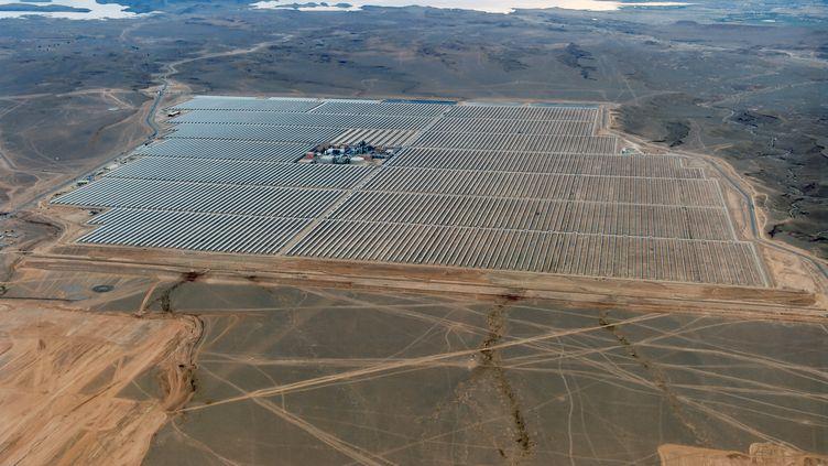 La centrale solaire Noor s'étend sur 3 000 hectares et permettra à terme d'alimenter en électricité deux millions de Marocains. (AFD)