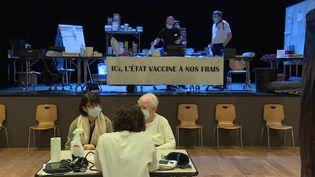 La colère des soignants du centre de vaccination de Jarville (France 3)