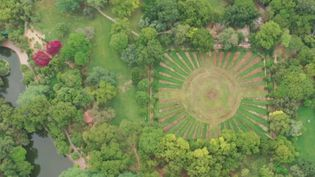 Lodhi Garden à New Delhi en Inde (FRANCE 2)