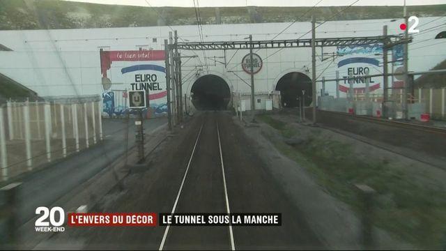 Transports : l'envers du décor du tunnel sous la Manche