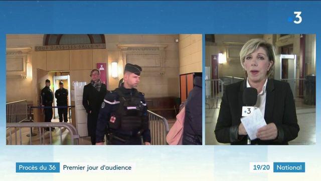 Premier jour d'audience au procès des deux policiers du 36 quai des Orfèvres