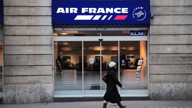 Le redressement judiciaire accompagné d'une période d'observation, décidé le 23 avril 2013, doit donner de l'oxygène aux finances du CCE d'Air France. (MAXPPP)